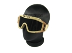 Picture of USMC Special Operation Goggle TAN 3 Set Lens