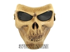 Picture of BD Cacique Plastic Skull Face Shield (Skeleton)