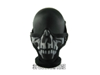 Picture of TMC Camo Metal Mesh Half Face Mask (BK)
