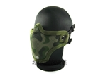 Picture of TMC Camo Metal Mesh Half Face Mask (OD)