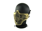 Picture of Emerson Camo Metal Mesh Half Face Mask (Sand)