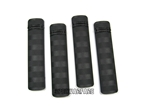 Picture of BD Battle Rail Cover Pack of 4 Pcs (Black)