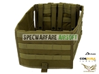 Picture of FLYYE Fast Attack Rack Additional Plate Carrier for FAPC GEN I (Coyote Brown)
