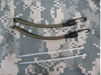 Picture of EMERSON Devgru FAST Helmet Side Rail Mount Bungee Lanyard TAN