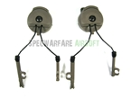 Picture of PT Type comtac Headset and Fast Helmet Rail Adapter Set Ranger Green