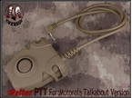 Picture of EMERSON Peltor Headset Cable PTT New Ver Talkabout Tan