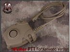 Picture of EMERSON Peltor Headset Cable PTT New Ver Kenwood Tan