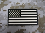 Picture of Dummy TAN/IR US Flag Left Patch mbss mlcs aor1 eagle
