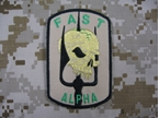 Picture of DEA Fast Team Patch Devgru Navy SEAL mbss lbt aor1