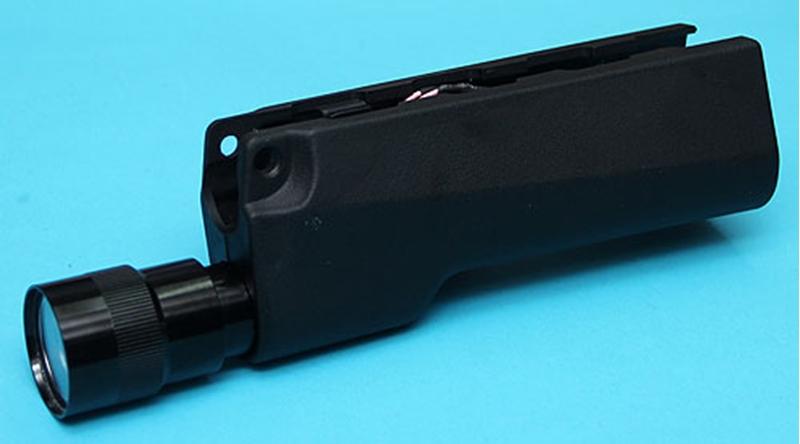 Specwarfare Airsoft. G&P MP5 Handguard with CREE LED