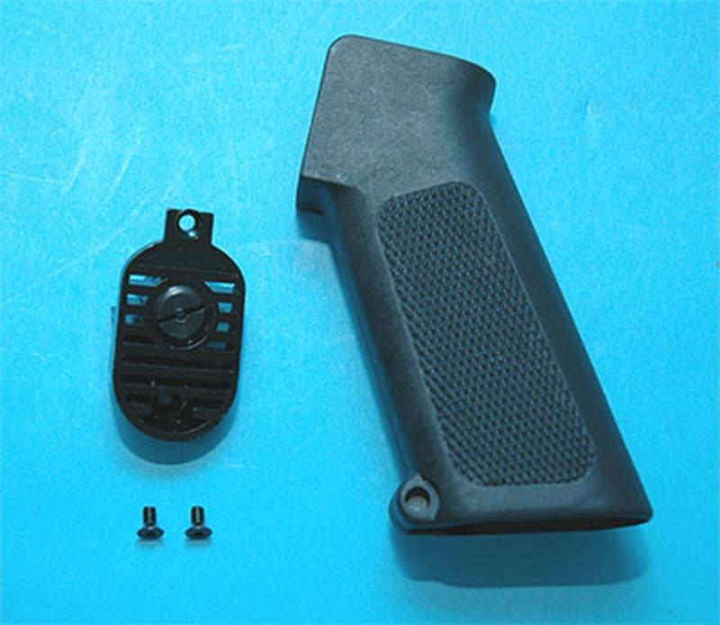 Specwarfare Airsoft G Amp P M16a1 Pistol Grip With Heat Sink