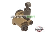 Picture of G&P M4/M16 Military 600M Flip Up Rear Sight (Sand)