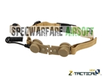 Picture of Z Tactical Throat Mic Adaptor for Z029 Bowman EVO III Headset (Tan)