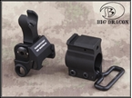 Picture of TROY Folding Front Sight with Gas Block Mounting Rail (BK)