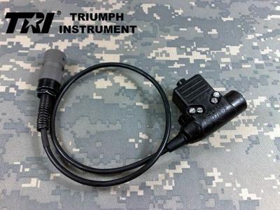 Picture of TRI tested Original NEXUS U94 6 pins PTT (Short) for TRI PRC-152