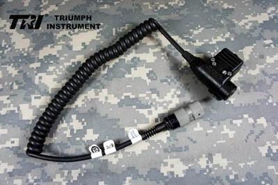 Picture of TRI tested Original NEXUS U94 6 pins PTT (Long) for TRI PRC-152