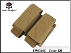 Picture of EMERSON LBT Style 40mm Double Pouch/500D (Khaki)