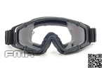 Picture of FMA SI-Ballistic-Goggle BK FOR Helmet