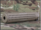 Picture of BD KAC style QD silencer with Flash hider Tan (CCW)