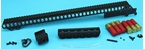 Picture of G&P Shotshell Receiver Rail Set for G&P M870 Metal Body (Long) - BK