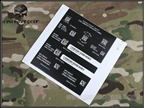 Picture of Emerson Devgru NSW Airsoft Label Sticker Gen II
