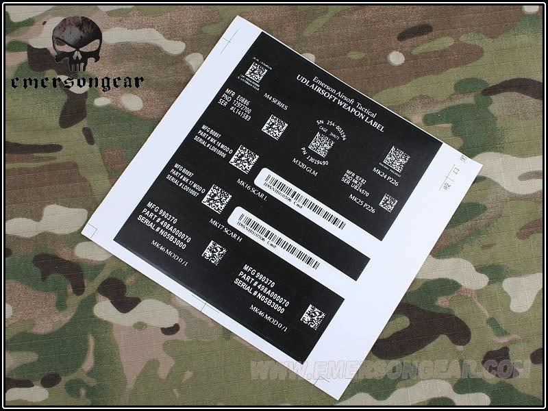 Picture of Emerson Devgru NSW Airsoft Label Sticker Gen II