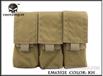 Picture of EMERSON LBT Style M4 Triple Magazine Pouch (KH)