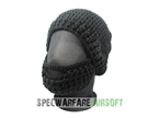 Picture of TBOC Tactical Beard Head Hat (Black Cap, Black Beard)