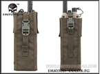 Picture of EMERSON PRC148/152 Tactical Radio Pouch (FG)