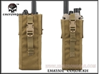 Picture of EMERSON PRC148/152 Tactical Radio Pouch (Khaki)