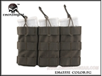 Picture of EMERSON Modular Triple Open Top Magazine Pouch (FG)