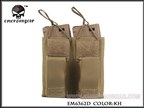Picture of EMERSON 5.56&Pistol Double Open Top Magazine Pouch (Khaki)