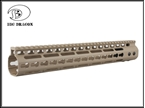 Picture of BD NOVESKE Aluminum 13.5 inch Rail /DE