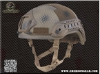 Picture of EMERSON ACH MICH 2001 Helmet-Special action version - SEALs Painted