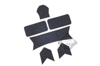Picture of FMA Maritime Devil stickers Universal Velcro (Black)