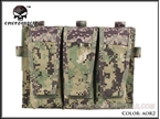 Picture of EMERSON Triple Magzine Pouch For AVS Vest (AOR2)