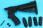 Picture of G&P Gas Charging Collapsible Stock Seet for Marui M870 Shotgun