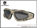 Picture of Emerson Zero Glass Metal Mesh Goggles (A-TACS FG)