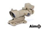Picture of AIM ACOG 4×32 Scope Red/Green Reticle with QD Mount + Mini Reddot (DE)