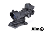 Picture of AIM ACOG 4×32 Scope Red/Green Reticle with QD Mount + Mini Reddot (BK)