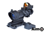 Picture of AIM ACOG 4×32 Scope with QD Mount + Mini Reddot (Black)