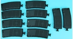 Picture of G&P Ball Ball Hi-Cap (340rds) Magazine w/Handle (BK) for Tokyo Marui M16 Series (10pcs / Set)