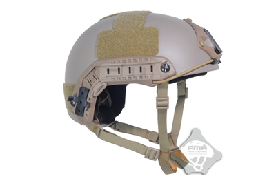 Picture of FMA Ballistic Type aramid fiber version Fast Helmet DE (L/XL)