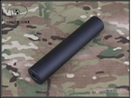 Picture of BD 185mm Smooth Style Silencer CCW 14mm