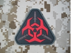 Picture of Mil-Spec Monkey velcro patch Outbreak Response Team (Red)