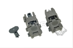 Picture of FMA FBUS Gen2 Foldable Sight Set OD