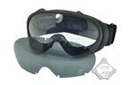 Picture of FMA OK Ski Goggles Black And White Lenses BK