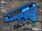Picture of BD CNC 8MM Ver.II Gearbox shell W/Bearing (Blue/Red)
