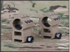 圖片 BD 25.4mm Scope Mount Set[1Rail+1Rail Style] (DE)