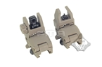 Picture of FMA FBUS Gen1 Foldable Sight Set (DE)